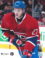 Alex Galchenyuk Montreal Canadiens Autographed Close Up 8x10 Photo