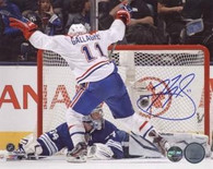 Brendan Gallagher Montreal Canadiens Autographed OT Goal 16x20 Photo