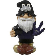 Baltimore Ravens NFL Thematic Resin Garden Gnome Figure