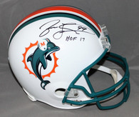 Jason Taylor Miami Dolphins Autographed Full Sized Replica Helmet