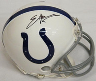 Edgerrin James Indianapolis Colts Autographed Mini Football Helmet