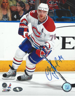 Andrei Markov Montreal Canadiens Autographed 8x10 Photo