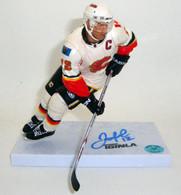 Jarome Iginla Flames Signed McFarlane Figure