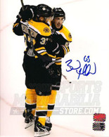 Brad Marchand Boston Bruins Autographed with Bergeron 16x20 Photo