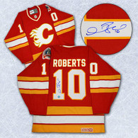 Gary Roberts Calgary Flames Autographed Replica Jersey