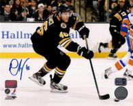 David Krejci Boston Bruins Autographed16x20 Photo