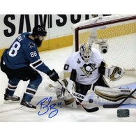 Brent Burns San Jose Sharks Autographed Stanley Cup 8x10 Photo