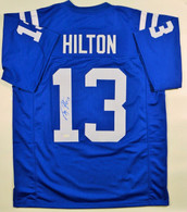 Copy of TY Hilton Indianapolis Colts Autographed Custom NFL Football Jersey