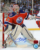 Cam Talbot Edmonton Oilers Autographed  Winter Classic 16x20 Photo