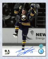 Jack Eichel Buffalo Sabres Autographed 1st Goal 8x10 Photo