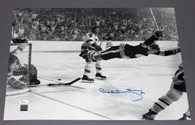 Bobby Orr Boston Bruins Signed 16x20 Dive Photo