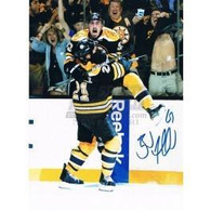 Brad Marchand Boston Bruins Autographed Stanley Cup Leap 8x10 photo