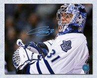 Curtis Joseph Toronto Maple Leafs Autographed Close Up  8x10 Photo