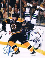 Brad Marchand BostonBruins Autographed Flipping Sedin 16x20 Photo