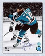 Joe Thornton San Jose Sharks Autographed Shooting 8x10 photo