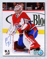 Carey Price Montreal Canadiens Autographed Glove Save 16x20 Photo