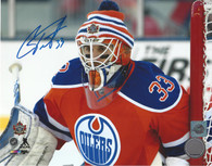 Cam Talbot Edmonton Oilers Autographed Winter Classic 8x10 Photo