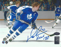 Daryl Sittler Toronto Maple Leafs Autographed 8x10 Photo