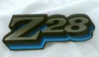 1978 CAMARO Z28 GRILLE EMBLEM 3 COLOR EMBLEM BLUE