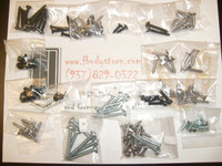 1979 - 1981 CAMARO Z28 T TOP INTERIOR TRIM SCREW KIT COMPLETE NEW!!