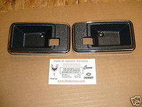 1976 - 1981 TRANS AM CAMARO INTERIOR DOOR HANDLE BEZEL CUPS