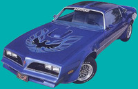 1973 - 1978 TRANS AM COMPLETE DECAL KIT
