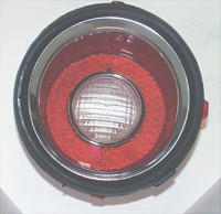 1971-1973 CAMARO REVERSE LIGHT LENS LEFT RS