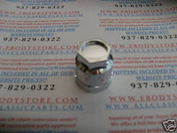 1982-1992 TRANS AM FIREBIRD LUG NUT COVERS CAPS CHROME