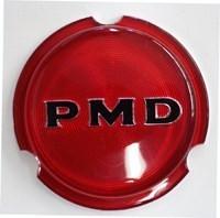 1970 - 1972 RALLY II 2 CENTER CAP WHEEL EMBLEM PONTIAC GTO RED