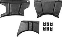 1970 - 1972 CAMARO Z28 CENTER CONSOLE BRACKET SET FOR AUTO TRANS