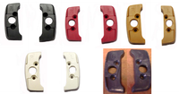 1974 - 1992 SEAT BELT GUIDE BRACKET ESCUTCHEON SET