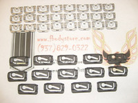 1970 – 1981 Camaro Trans Am Window Trim Clip Set 38pc