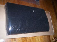 1975-1981 BLACK FELT CUSTOM FIT TRUNK MAT