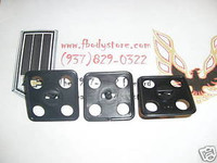 EARLY GM HOOD INSULATION CLIPS CAMARO SQUARE 2 INCH