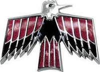 1967-1968 FIREBIRD FRONT FENDER EMBLEM SET BIRD