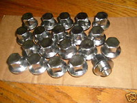 1978-1981 TRANS AM WS6 TURBO SNOWFLAKE WHEEL LUG NUTS