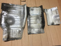80 Series, Exhaust Heat Shields, 95-97