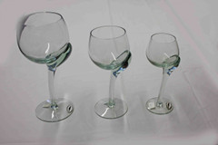 Crooked Stemware - Series    (price below for liqueur size)