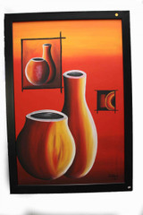 Composition of Pots in Red - Clifford 2007 - Zimbabwe
