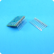 CS004:  Dual in-line style edge pins without solder (10)