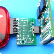 CS005 acts as a bridge between Microchip's PICKit and our open firmware modules