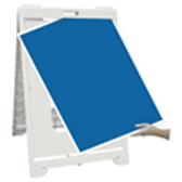 A Frame, Signicade Econo Classic (Light Duty)+ (2) Vinyl Signs