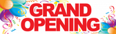 Grand Opening Pre-Printed