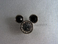 Mickey Mouse Crystal Tac Pin