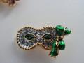 SCS 2001 Harlequin Event Green Mask Tac Pin