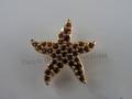 SCS 2005 Harmony Event Topaz Starfish Tac Pin