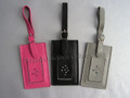 Leather Multi-Color Luggage Tags ~ Set of 3