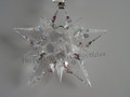2001 Annual Star / Snowflake Christmas Ornament