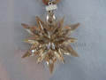 2011 SCS Annual Edition Golden Star / Snowflake Christmas Ornament