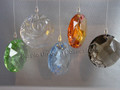 SCS 2008-2010 ~ Set of 5 Elements Window Ornaments